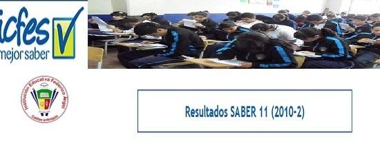 Resultados Pruebas ICFES-Saber 2010 | Iefangel.org